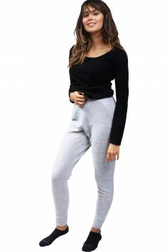 Grey sports cachmire leggings