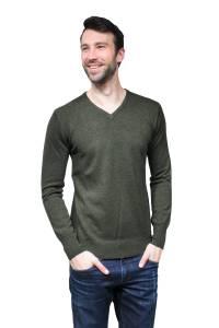 Scottish Cashmere V Neck Sweater