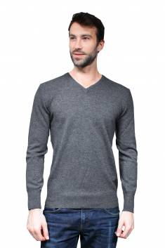 Scottish Cashmere V Neck Sweater