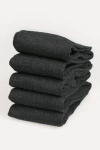 5 X Pairs of Merino Men's High Socks