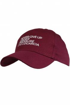 Burgundy Unisex golf cap